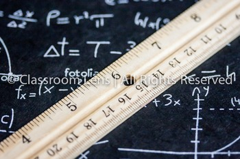 Classroom Lens Stock Photo - Ruler 2