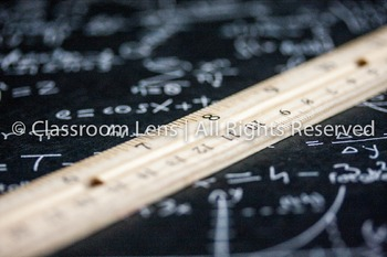 Classroom Lens Stock Photo - Ruler