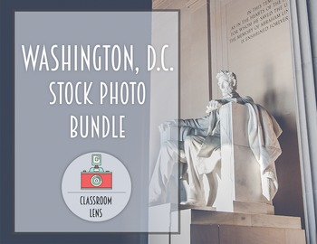 Classroom Lens Stock Photo - Washington, D.C. Bundle