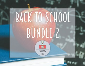 Classroom Lens Stock Photos - Back to School Bundle 2