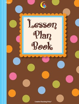 Classroom Lesson Plan Book - Dots on Chocolate