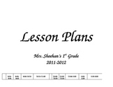 Classroom Lesson Plan Template