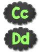Classroom Letter Decor