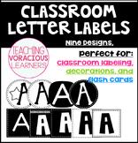 Classroom Letter Bulletin Board Labels