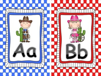 Classroom Letter Signs