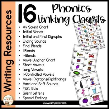 Classroom Linking Charts BUNDLE