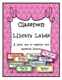 Classroom Libary Labels ...and book spine tabs!