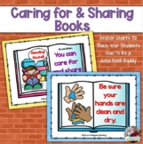 Caring for Books- Classroom Library Anchor Charts