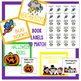 Classroom Library Basket/Bin Labels - White Rainbow Set