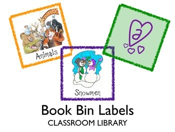 Classroom Library Bin Labels