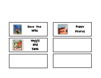 Classroom Library Bin Labels