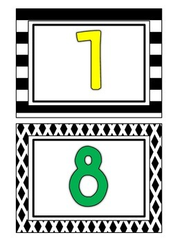 Classroom Library Bin Labels - Black and White with Primary Letters