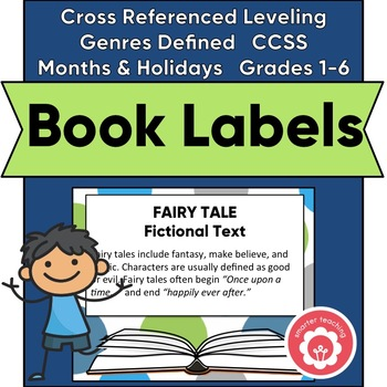 Classroom Library Book Basket Labels (Green, Blue, And Gray Dot)