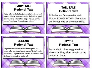 Book Basket Labels (Purple And White Plaid)