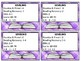Classroom Library Book Basket Labels (Purple And White Plaid)