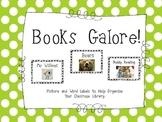 Classroom Library Book Bin Labels ... Books Galore