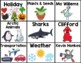 Classroom Library Book Bin Labels - Growing Resource!