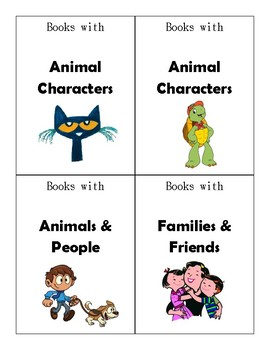 Classroom Library Book Box Labels