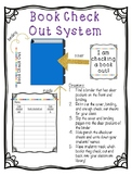 Classroom Library Book Check Out Binder