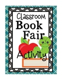 Classroom Library Book Fair Activity