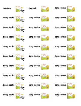 Classroom Library Book Labels by Series and Genre