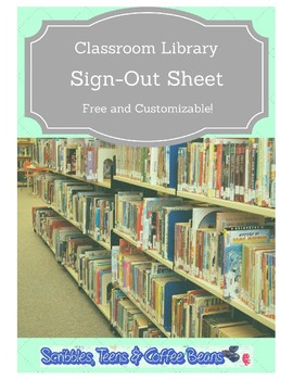 Classroom Library Book Sign-Out