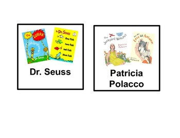 Classroom Library Book Tub Tags