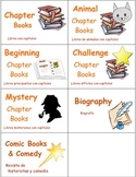 Classroom Library Book and Box Labels CHAPTER BOOKS & MAGA