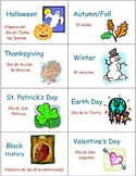 Classroom Library Book and Box Labels THEME SET 4
