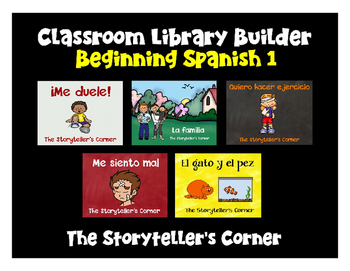 Spanish Classroom Library Builder - Set 1