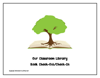 Classroom Library Check-Out Form