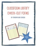 Classroom Library Check-Out Forms
