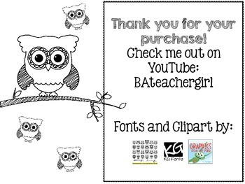 Classroom Library Check Out Slip - Owl Theme