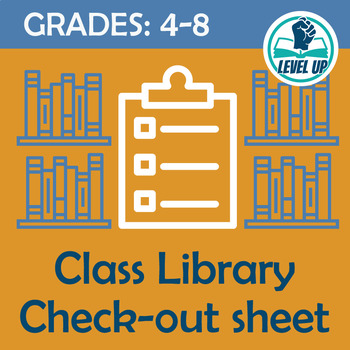 Classroom Library Check Out for Middle School