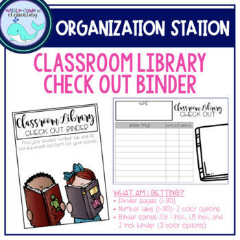Classroom Library Checkout Binder