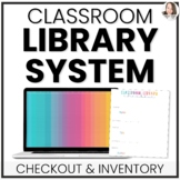 Classroom Library Checkout & Editable Inventory System in Google Sheets