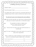 Classroom Library Contract