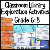 Classroom Library Introduction Activities