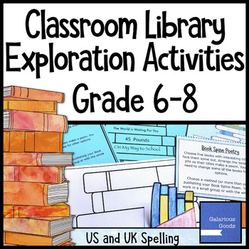 Classroom Library Exploration Activities