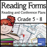 Reading Forms (for Reading Planning and Conference Planning)