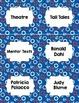 Classroom Library Genre Labels Nautical