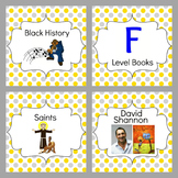 Classroom Library Individual Book Labels