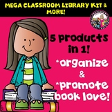 Classroom Library Kit MEGA BUNDLE! 5 Products in 1! Gr. 2-5