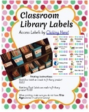 Classroom Library Label Set