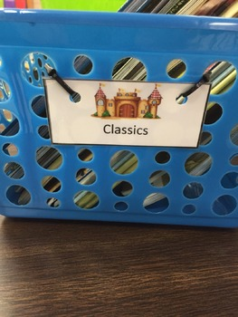 Classroom Library Label bundle