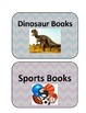 Classroom Library Labels!