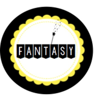 Classroom Library Labels - Black & Yellow