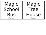Classroom Book Library Labels