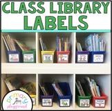 Classroom Library Labels -Book Bin Labels