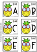 Classroom Library Labels A-Z & Editable (Pineapple Theme)